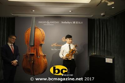 Ex-Croall McEwen Stradivari - 21 February, 2017