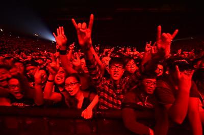 Metallica Live in Hong Kong - 20 January, 2017