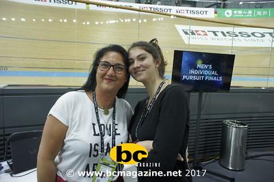 UCI Track Cycling World Championships @ HK Veledrome - 14 April, 2017