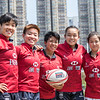 Stephanie Chan Chor-ki, Vivian Poon Hoi-yan, Amber Tsang Wing-chi, Agnes Chan Tsz-Ching and Agnes Tse Wing-kui
