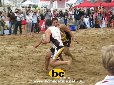 Beach rugby  20 march 2011