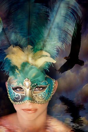 rebekah mask with bir