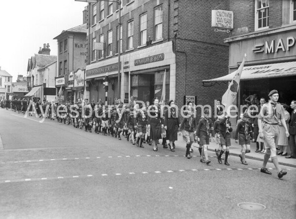 St George's Day parade, 1960