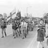 St George's Day Parade in Mandeville Road, Apr 25 1976