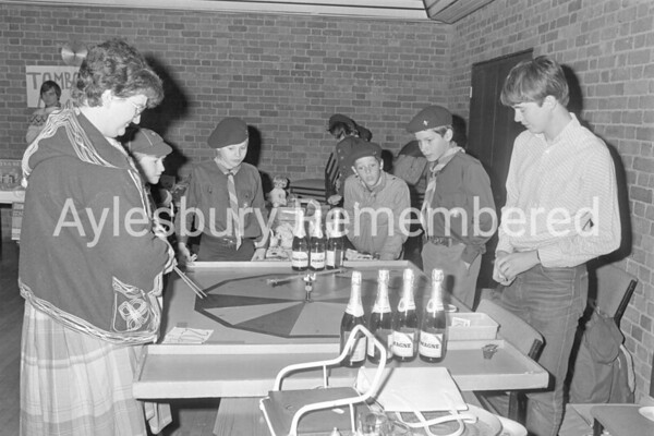 11th Aylesbury Scouts Bazaar, Nov 1983