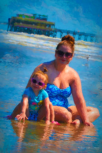 Playtime On Galveston Beach  4330B-FA-1222