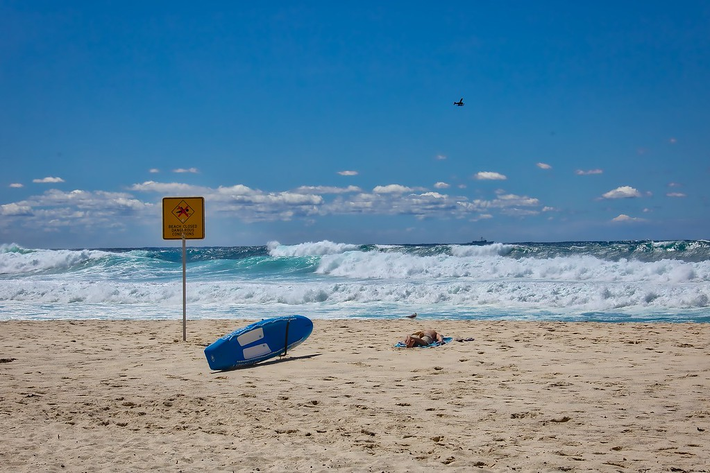 Closed Beach - Bronte