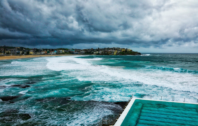 Storms  Over Bondi Beach