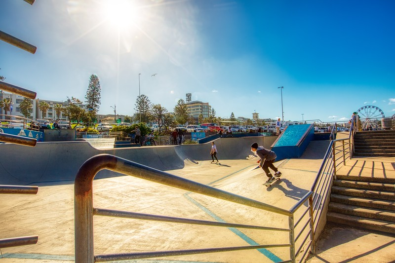 Skating - Bondi Beach