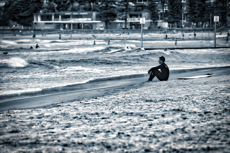 Contemplation - Manly Beach