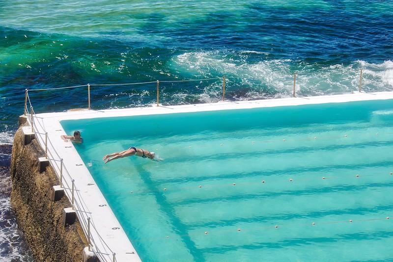 Spring Swimming - Bondi Icebergs