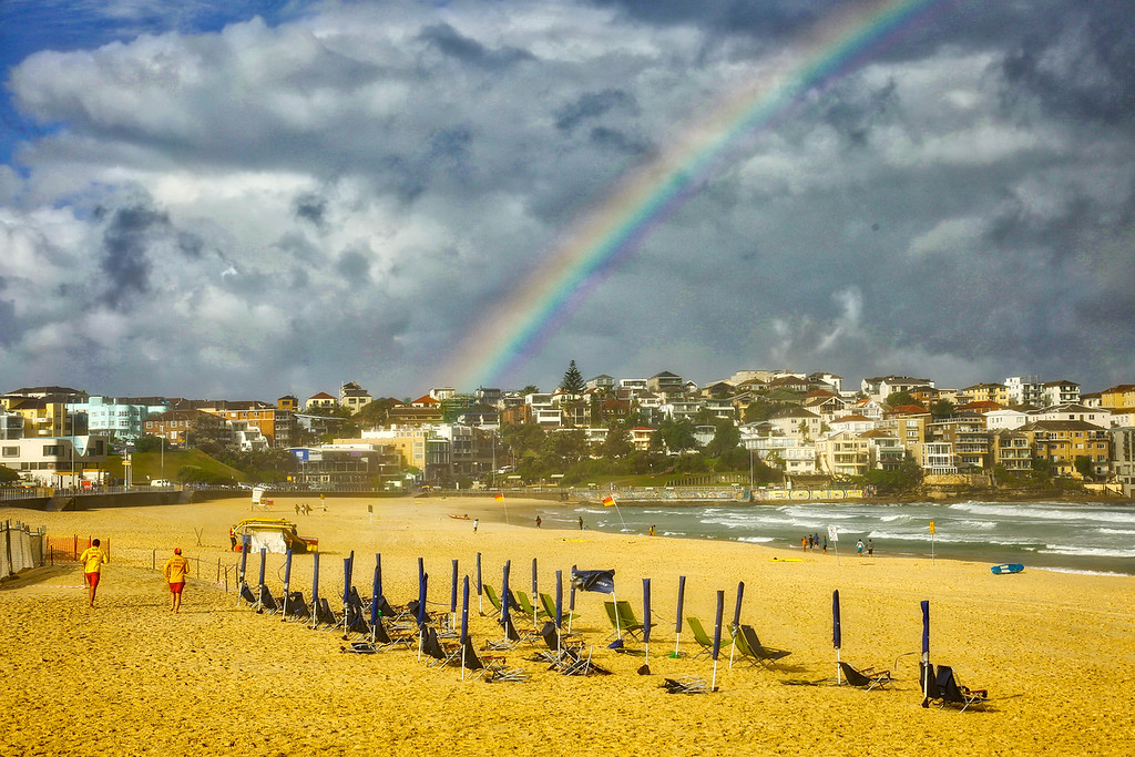 Bondi Beach Rainbow