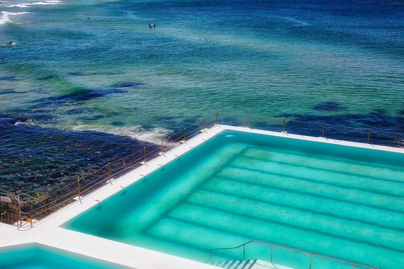 Bondi Icebergs - Cool Blue