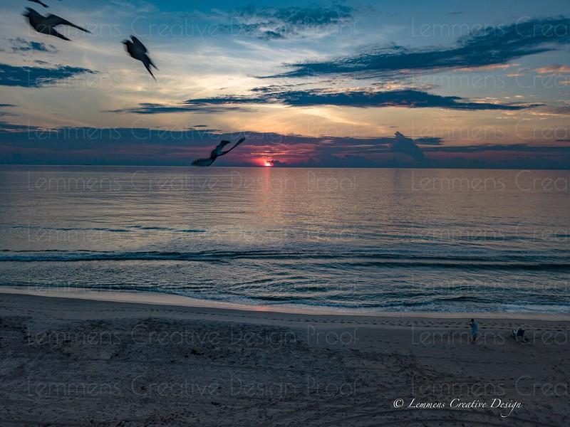 Beach Sunrise
