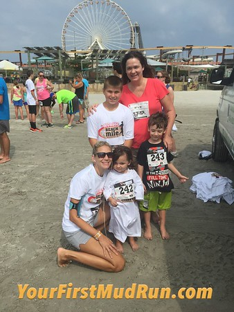 Beach Meet and Mile 2015 at Morey's Piers Wildwood, NJ