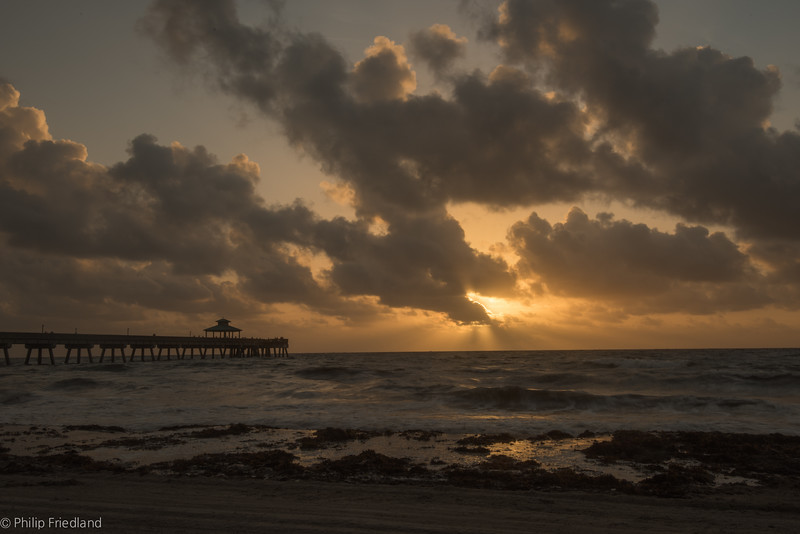 Deerfield Beach Pier-sunrise