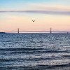 Makcinac Bridge Sunset 1