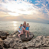 Frankfort Michigan Pier Family Picture