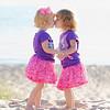 Lake Michigan Beach - Children Kissing