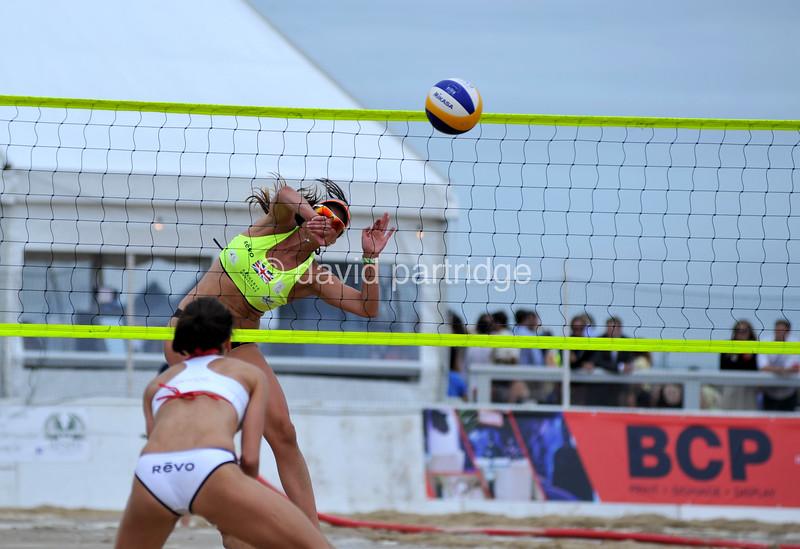 REVO Sand Slam Beach Volleyball Series 2016, Sandbanks, POOLE, DORSET, UK