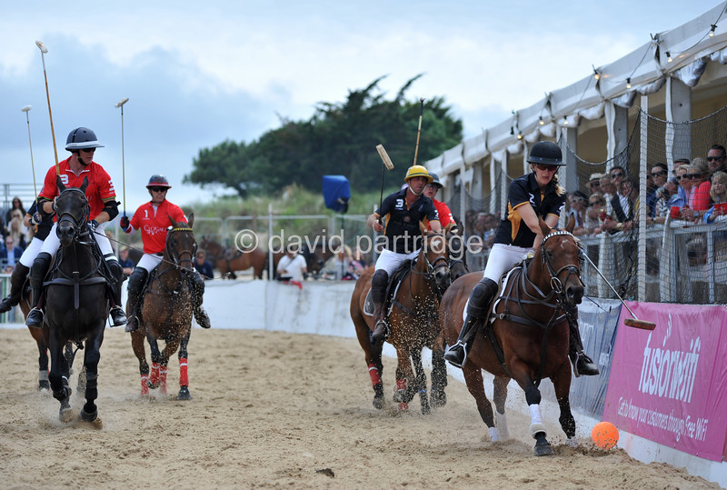 British Beach Polo Championships, Sandbanks, POOLE, DORSET, UK