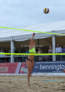 REVO Sand Slam Beach Volleyball Series 2016, Sandbanks, POOLE, DORSET, UK