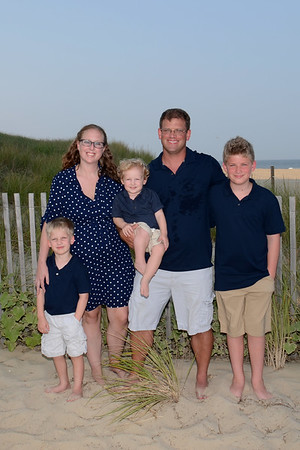 Andrews Family Beach Portraits Aug. 27, 2018