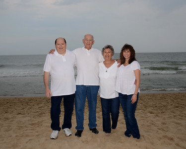 Cookerly Family Beach Portraits July 28, 2018