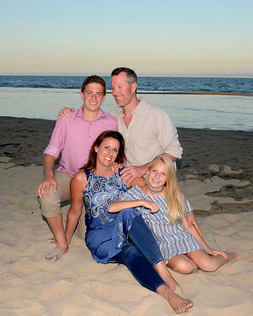 Hagerman Family Beach Portraits Sept. 16, 2017