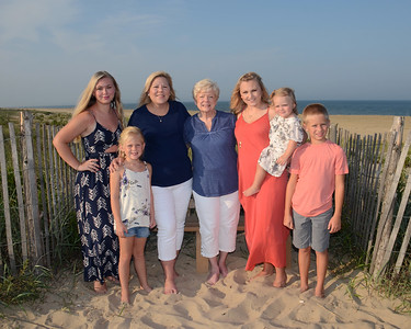 Henne Family Beach Portraits Aug. 7, 2018