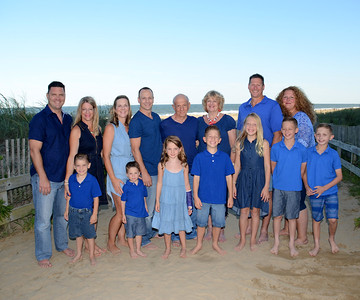 La Bella Family Beach Portraits July 31, 2017