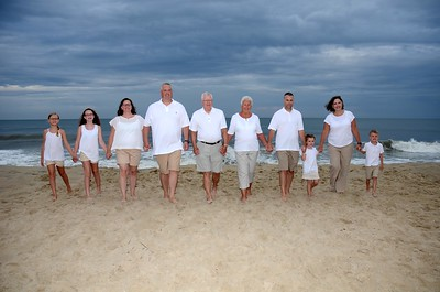 Miller Family Beach Portraits Aug. 22, 2018