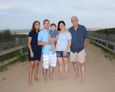 Miller Family Beach Portraits July 11, 2017