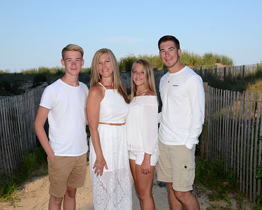 Taylor Family Beach Portraits Aug. 1, 2017