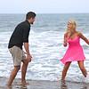"""Pop the Question"" Beach Engagement"
