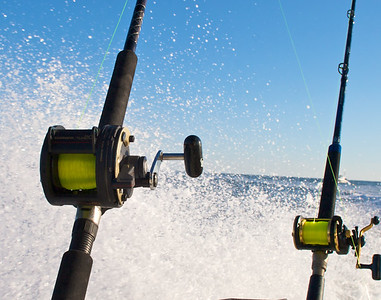 fishing reels spray