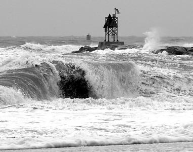 Angry Rudee Wave. Now on display @ the Beach Pub