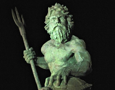 King Neptune night. Now on display @ the Beach Pub