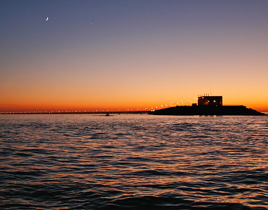 3rd island sunset
