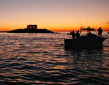 3rd island sunset boat