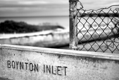Boynton Inlet bnw