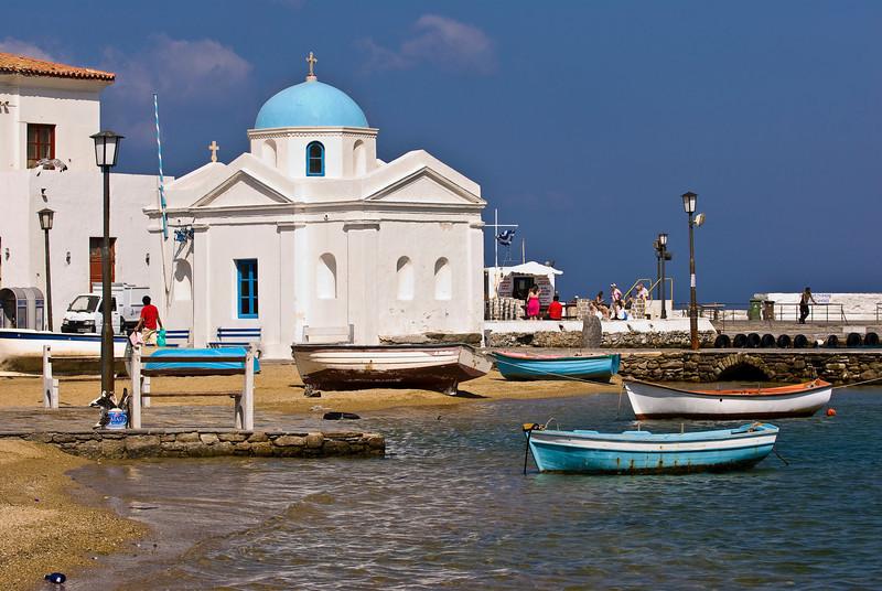 Mykonos Harbor, Greece
