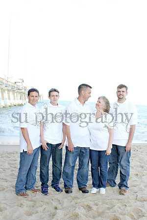 Unger Family Beach Pictures 2012