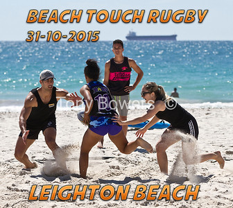 Beach Touch Rugby