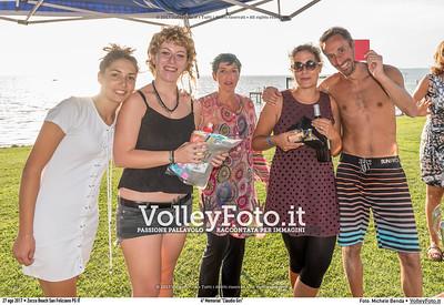 """durante 4º Memorial """"Claudio Giri"""", Torneo di Sand Volley 3x3 misto. presso Zocco Beach San Feliciano PG IT, 27 agosto 2017. Foto: Michele Benda [riferimento file: 2017-08-27/_7503863]"""