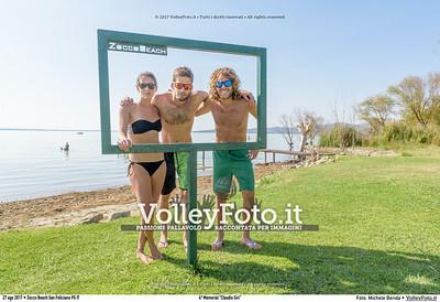 """durante 4º Memorial """"Claudio Giri"""", Torneo di Sand Volley 3x3 misto. presso Zocco Beach San Feliciano PG IT, 27 agosto 2017. Foto: Michele Benda [riferimento file: 2017-08-27/_7503721]"""