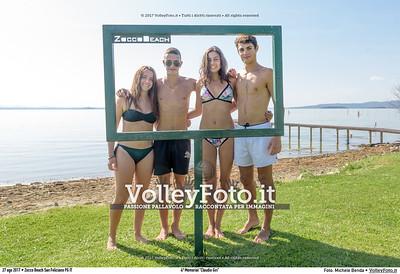 """durante 4º Memorial """"Claudio Giri"""", Torneo di Sand Volley 3x3 misto. presso Zocco Beach San Feliciano PG IT, 27 agosto 2017. Foto: Michele Benda [riferimento file: 2017-08-27/_7503728]"""