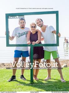 """durante 4º Memorial """"Claudio Giri"""", Torneo di Sand Volley 3x3 misto. presso Zocco Beach San Feliciano PG IT, 27 agosto 2017. Foto: Michele Benda [riferimento file: 2017-08-27/_7503708]"""
