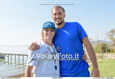 """durante 4º Memorial """"Claudio Giri"""", Torneo di Sand Volley 3x3 misto. presso Zocco Beach San Feliciano PG IT, 27 agosto 2017. Foto: Michele Benda [riferimento file: 2017-08-27/_7503718]"""