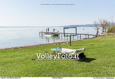 """durante 4º Memorial """"Claudio Giri"""", Torneo di Sand Volley 3x3 misto. presso Zocco Beach San Feliciano PG IT, 27 agosto 2017. Foto: Michele Benda [riferimento file: 2017-08-27/_7503696]"""